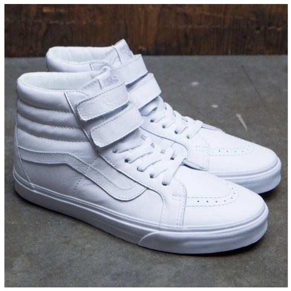 b026ea3cb2fad3 NIB Vans Sk8-Hi Reissue V Leather Sneakers
